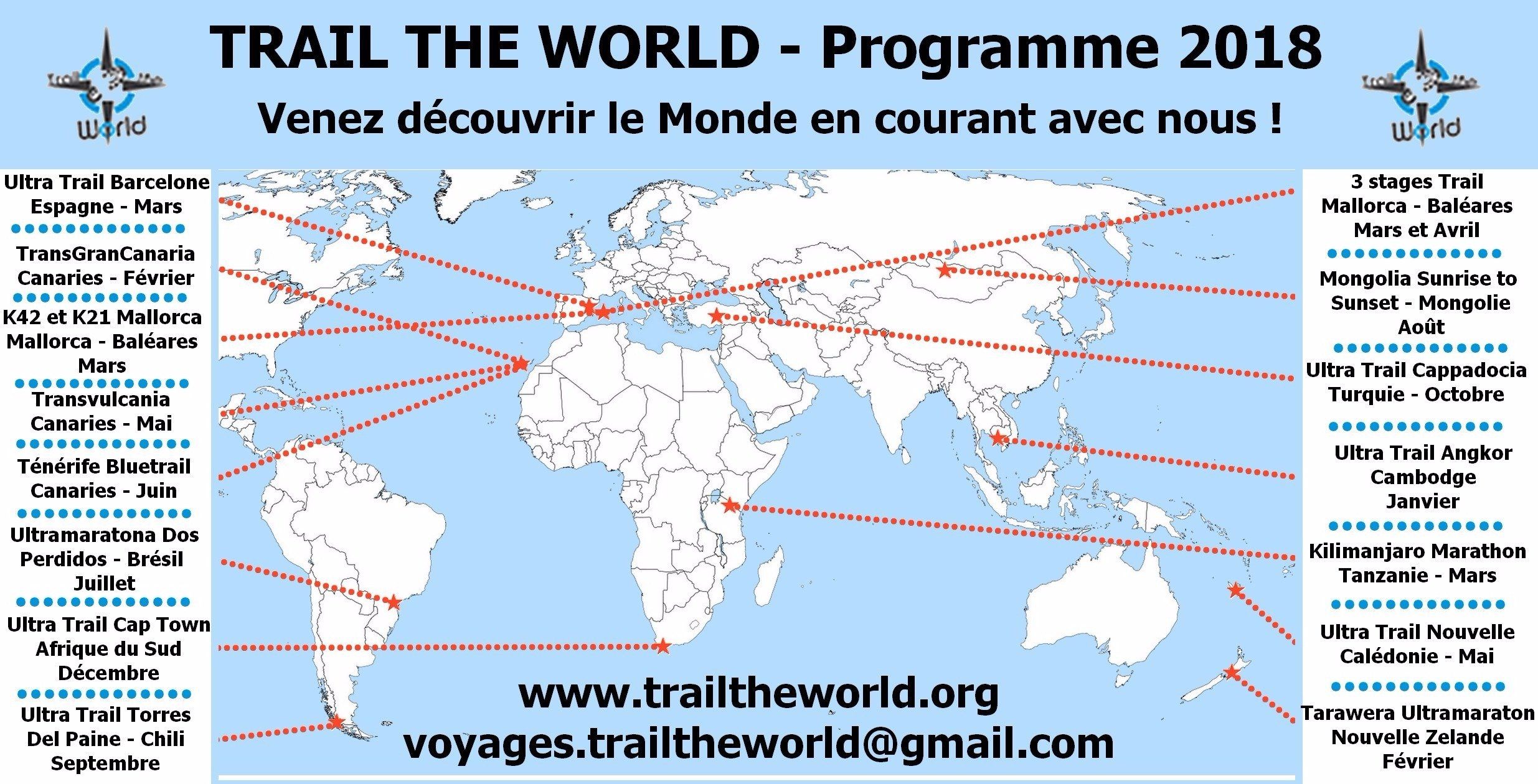 Programme 2018 - Trail The World