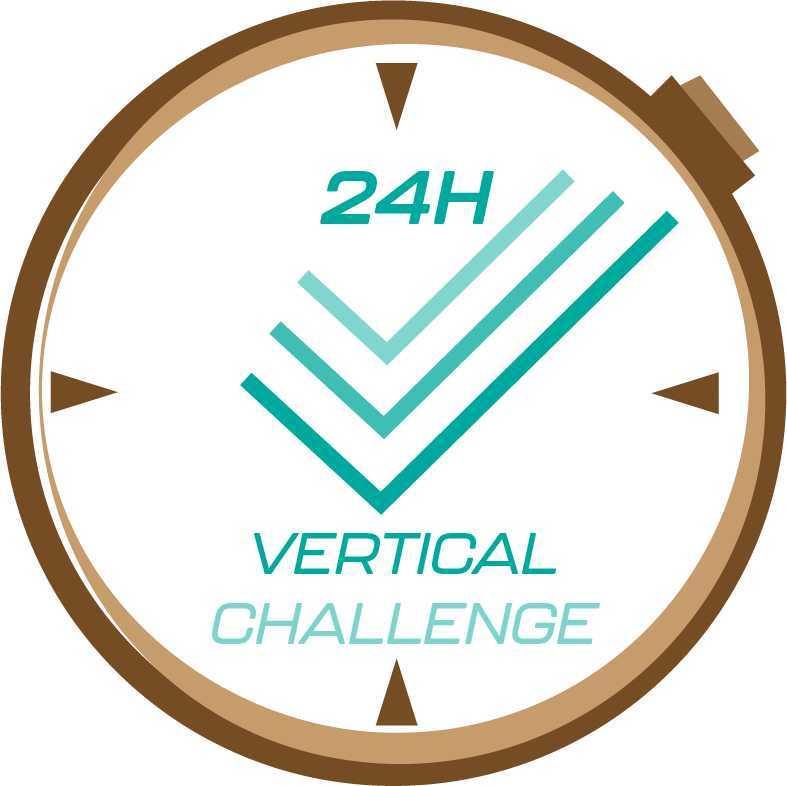 Événements Uniques - Trail The World - Logo 24 H Vertical Challenge 4