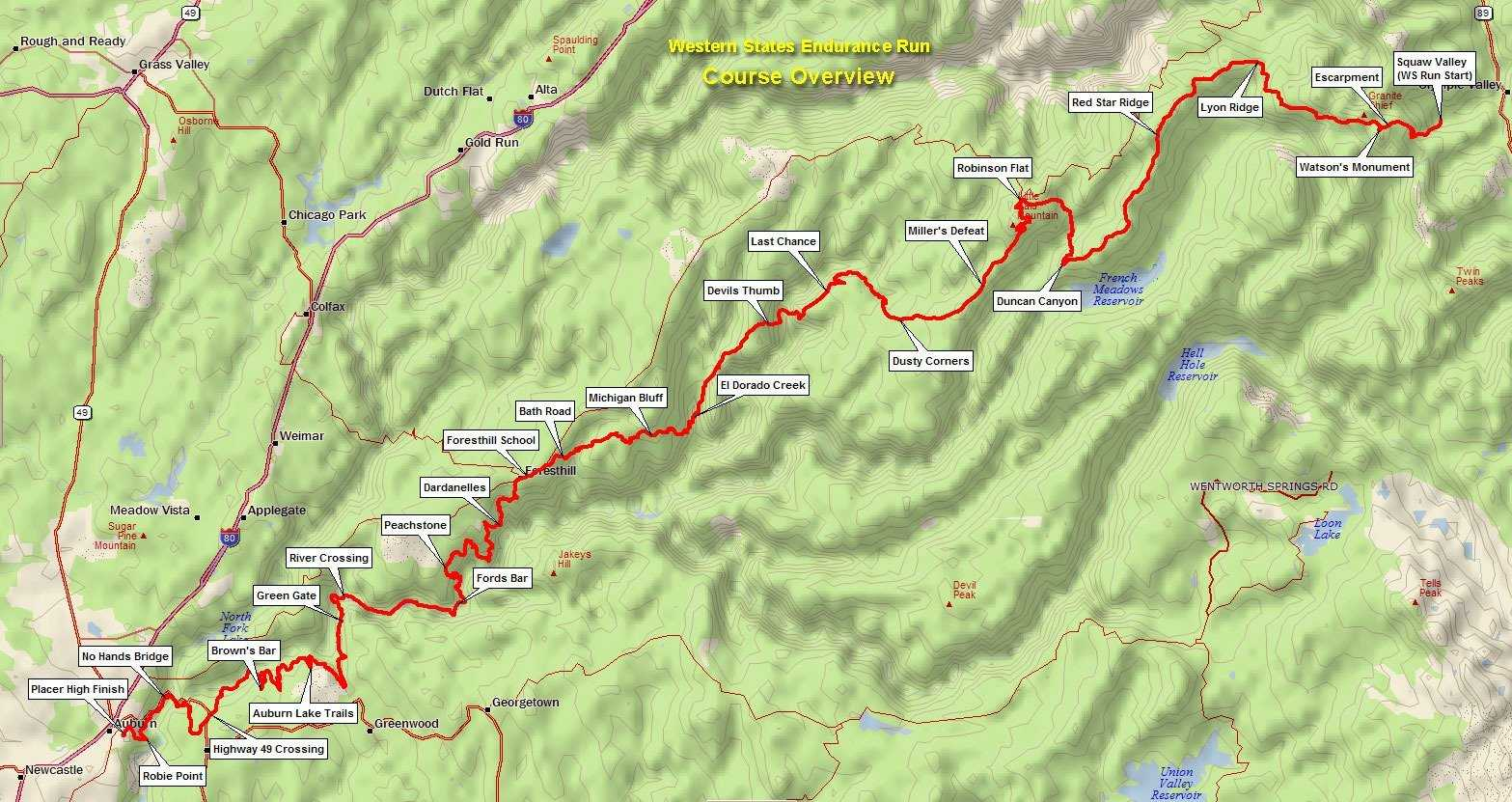 parcours western states